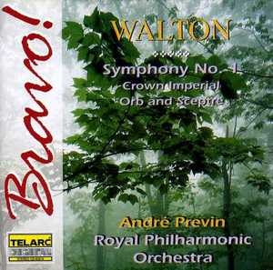 Walton: Symphony No.1 album cover