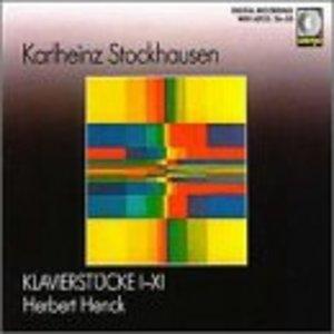 Stockhausen: Klavierstuke 1-11 album cover
