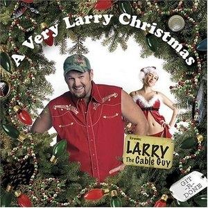 A Very Larry Christmas album cover
