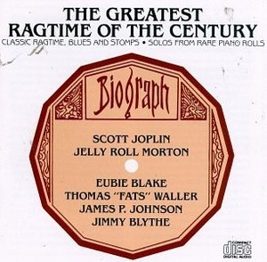The Greatest Ragtime Of The Century album cover