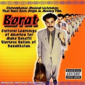 Borat: Stereophonic Musical Listenings That Have Been Origin In Moving Film album cover