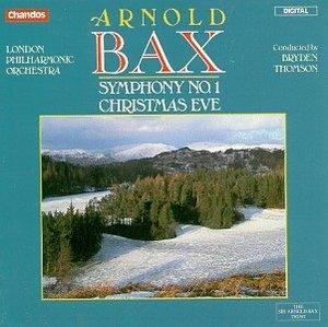 Bax-Symphony No1 'Christmas Eve' album cover