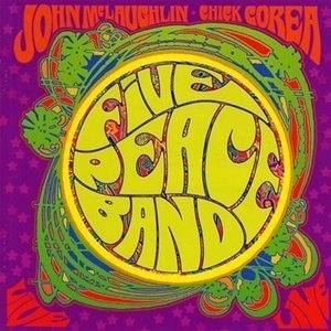 Five Peace Band (Live) album cover