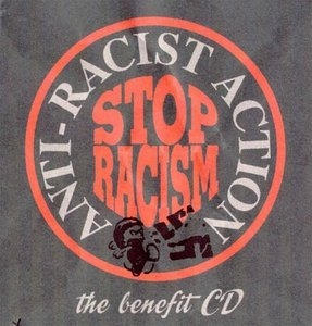 Anti-Racist Action: The Benefit CD album cover