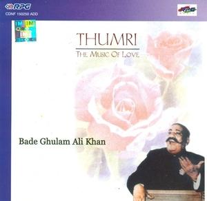 Thumri  (Vocal) album cover