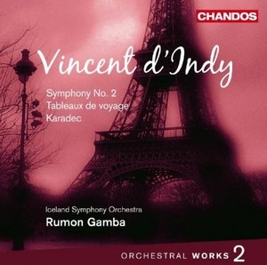 Vincent D'Indy: Orchestral Works, Vol.2 album cover