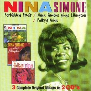 Forbidden Fruit-Sings Ellington-Folksy Nina album cover