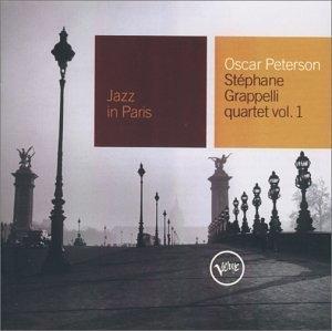 Jazz In Paris: Oscar-Peterson-Stephanie Grapelli Quartet, Vol.1 album cover