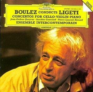 Ligeti: Concertos For Cello, Violin & Piano album cover