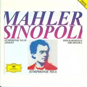 Mahler: Symphonies Nos.6 & 10 album cover