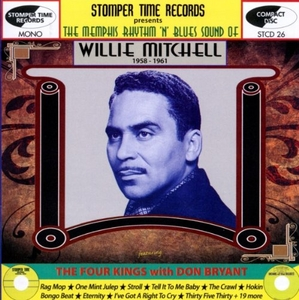 The Memphis Rhythm 'N' Blues Sound Of Willie Mitchell album cover