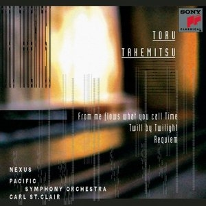 Takemitsu: Orchestral Works album cover