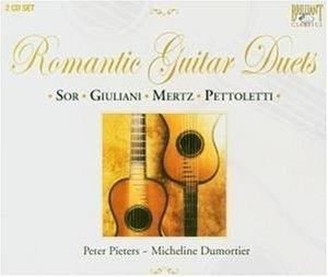 Romantic Guitar Duets album cover