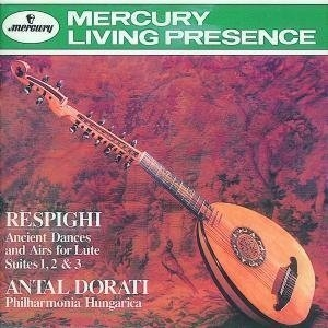 Respighi: Ancient Dances And Airs album cover