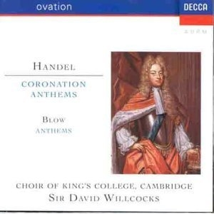 Handel: Coronation Anthems, Blow: Anthems album cover