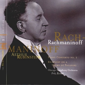 Rubinstein Collection, Vol.35 album cover