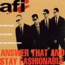 Answer That And Stay Fash... album cover