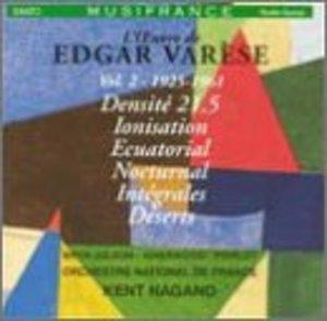 Varese: Vol.2, 1925-1961 album cover
