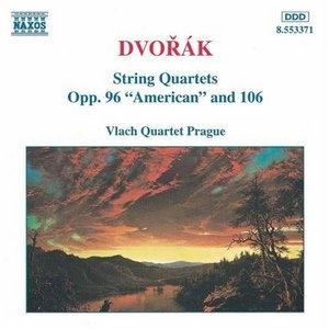 Dvorak: String Quartets, Op.96 'American' And 106 album cover