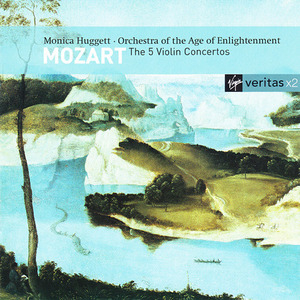 Mozart: The 5 Violin Concertos album cover