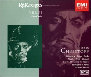 Verdi-Don Carlo album cover