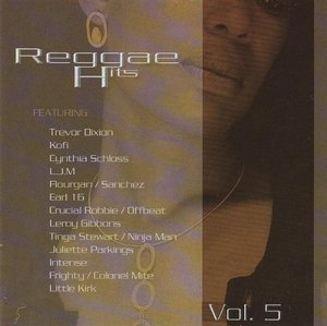 Reggae Hits Vol.5 (Jet Star) album cover