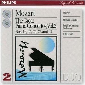 Mozart: The Great Piano Concertos, Vol.2 album cover