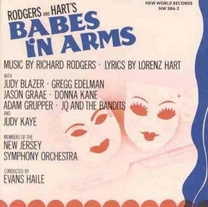 Babes In Arms album cover