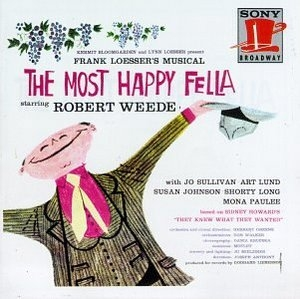 The Most Happy Fella (1956 Original Broadway Cast) album cover