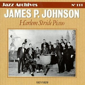 Harlem Stride Piano album cover
