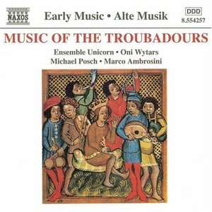 Music Of The Troubadours album cover