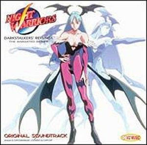 Night Warriors: Darkstalkers' Revenge, The Animated Series: Original Soundtrack album cover