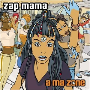 A Ma Zone album cover