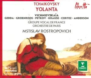 Tchaikovsky: Yolanta album cover