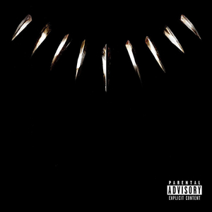 Black Panther The Album: ... album cover