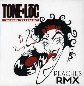 Wild Thing: Peaches RMX album cover