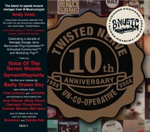Twisted Nerve 10th Anniversary Mix album cover