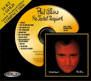 No Jacket Required (Limited Gold Edition) album cover