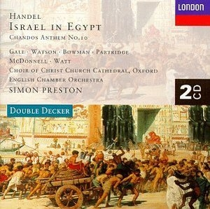 Handel: Israel In Egypt album cover
