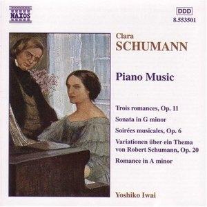 Clara Schumann: Piano Music album cover