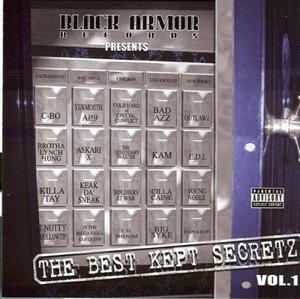 The Best Kept Secretz, Vol. 1 album cover