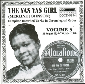 The Yas Yas Girl-Complete Recorded Works-Vol.3 (1939-1940) album cover