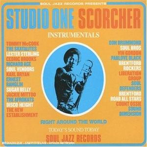 Studio One Scorcher album cover