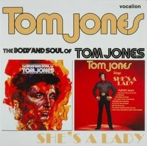 Body & Soul Of Tom Jones~ Tom Jones Sings She's A Lady album cover
