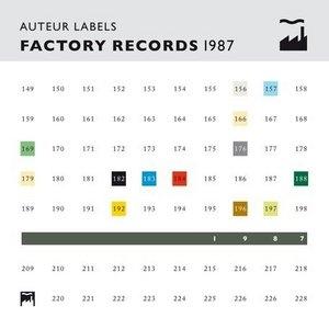 Auteur Labels: Factory Records 1987 album cover