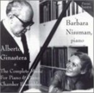 Ginastera: Complete Music For Piano & Piano Chamber Ensembles album cover