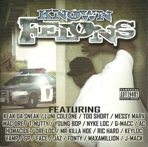 Known Felons album cover