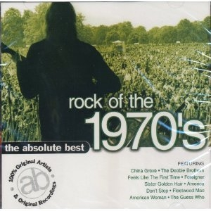 The Absolute Best Rock Of The 1970's album cover