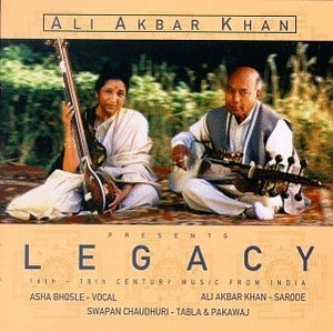 Legacy: 16th-18th Century Music From India album cover