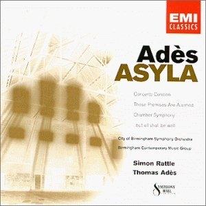Adès: Asyla album cover